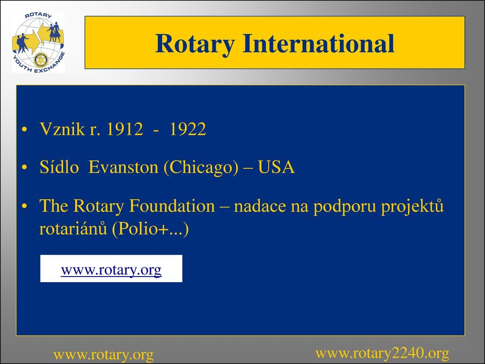 USA The Rotary Foundation nadace