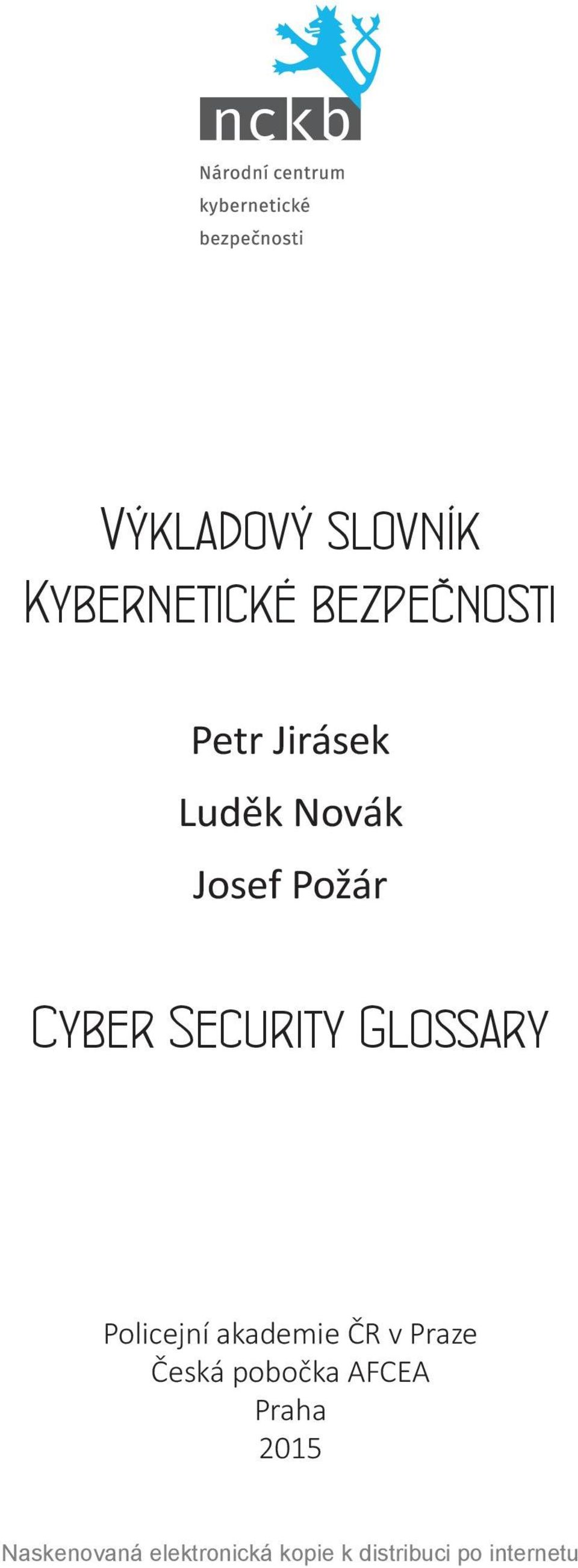 Josef Požár Cyber Security Glossary
