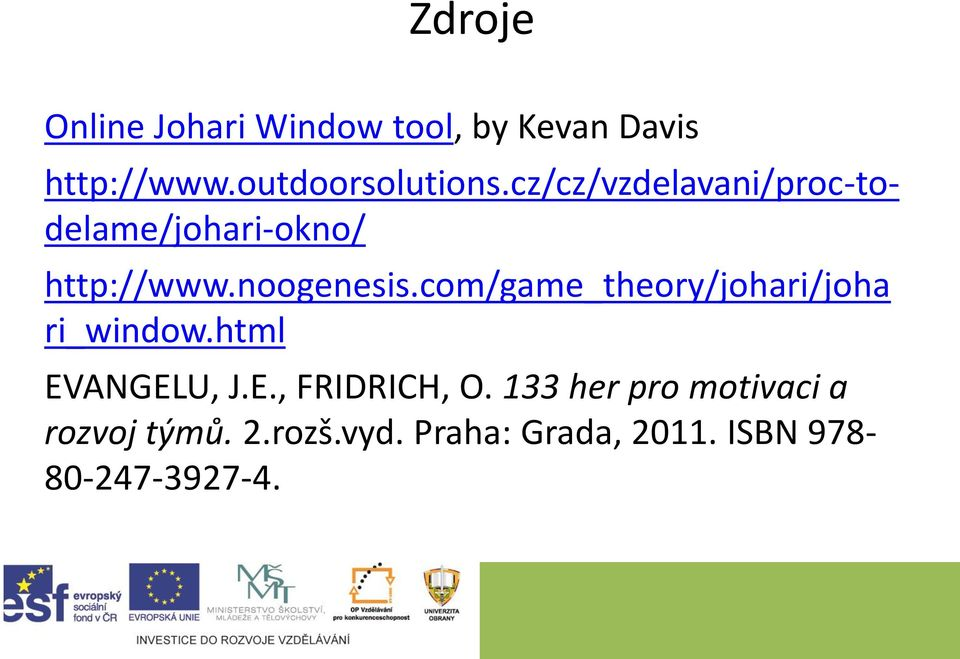 com/game_theory/johari/joha ri_window.html EVANGELU, J.E., FRIDRICH, O.