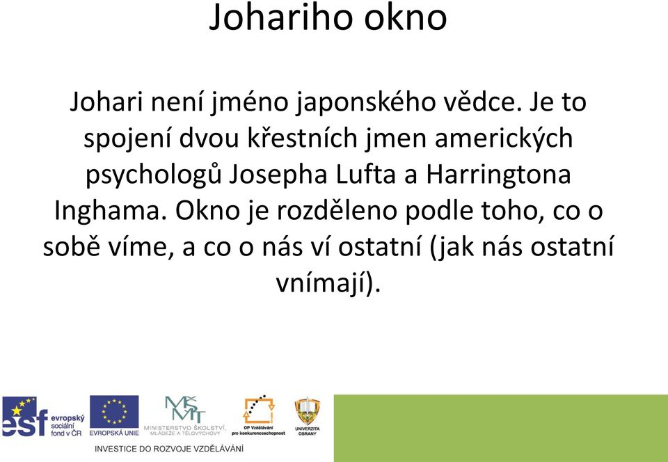 Josepha Lufta a Harringtona Inghama.