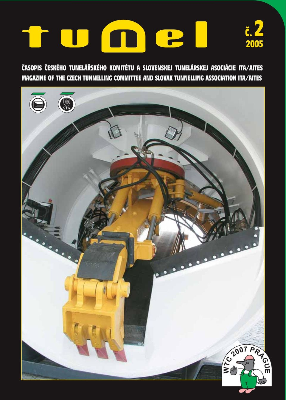 ITA/AITES MAGAZINE OF THE CZECH TUNNELLING