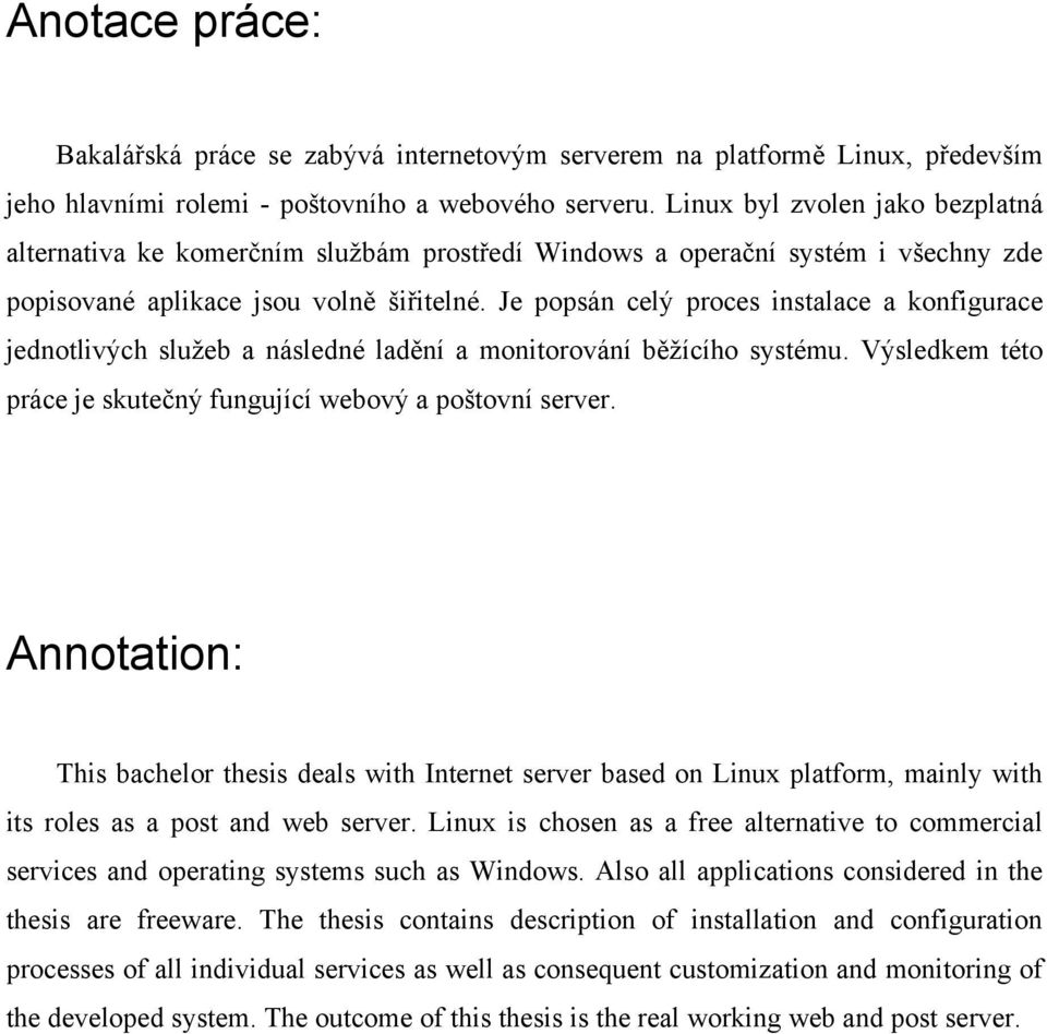 bachelor thesis annotation Automatic annotation of latin vowel length bachelor's thesis in language technology june 4, 2015 to be able to perform an automatic annotation of the vowel.