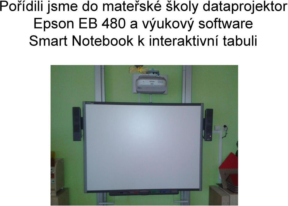 480 a výukový software Smart