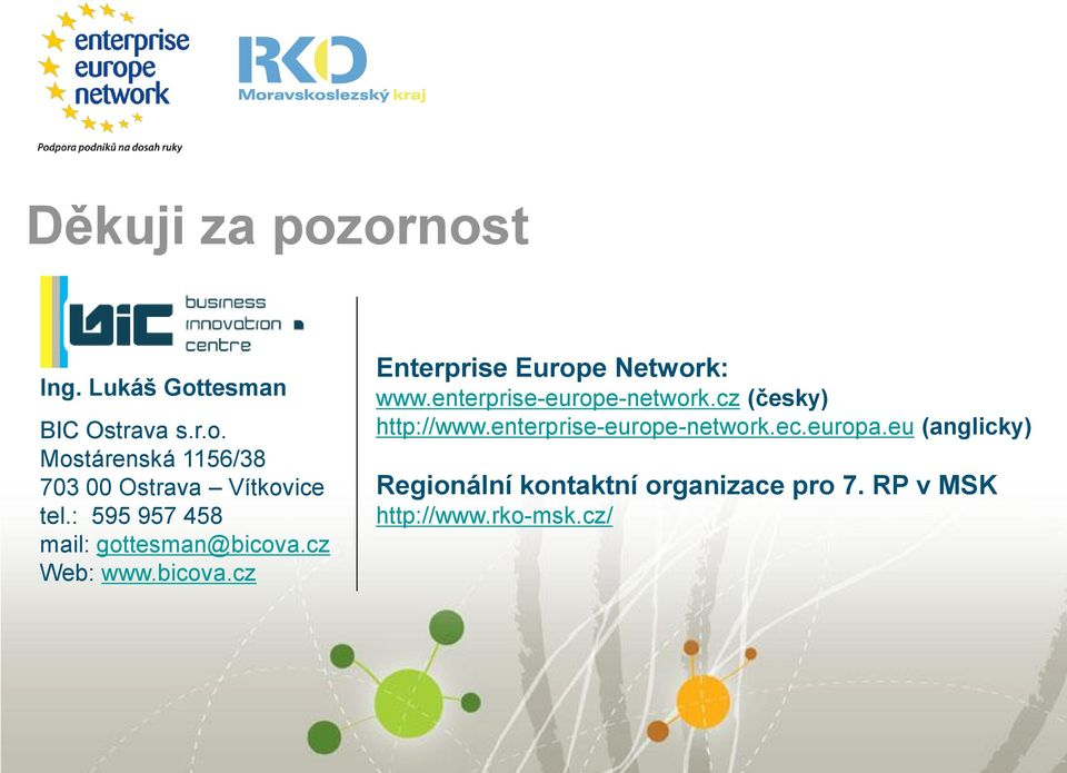 enterprise-europe-network.cz (česky) http://www.enterprise-europe-network.ec.europa.