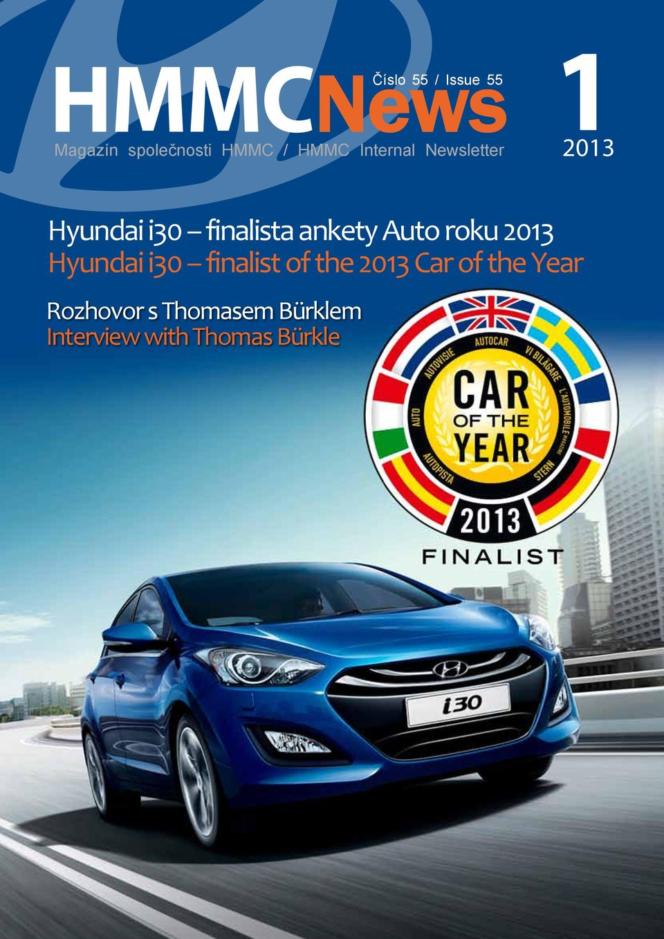 Auto roku 2013 Hyundai i30 finalist of the 2013 Car of