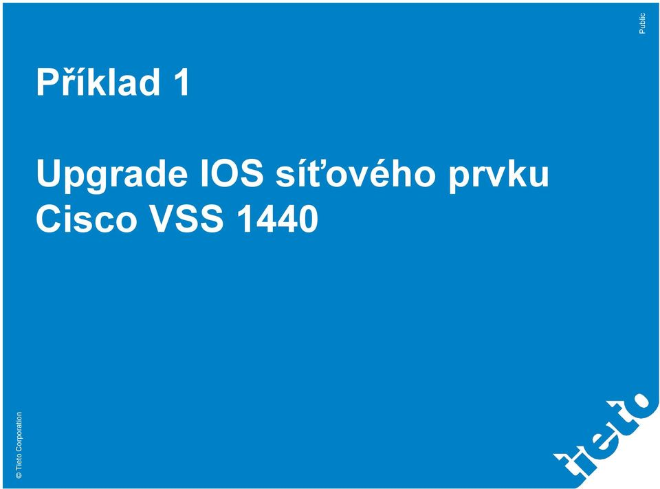 Upgrade IOS