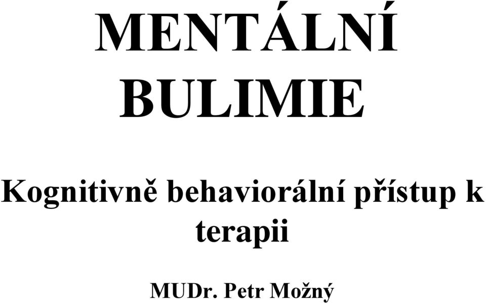 behaviorální