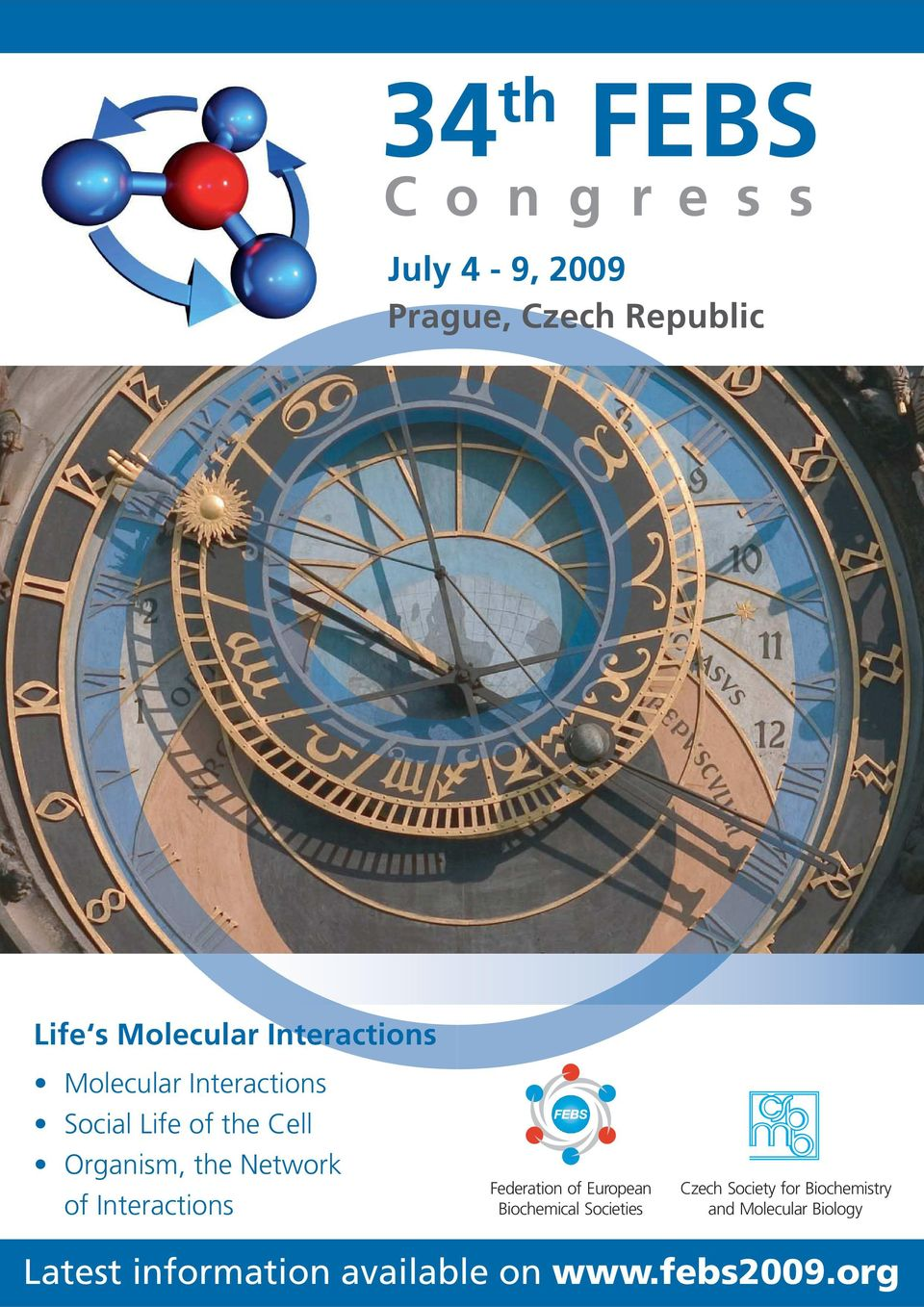 of Interactions Federation of European Biochemical Societies Czech Society for