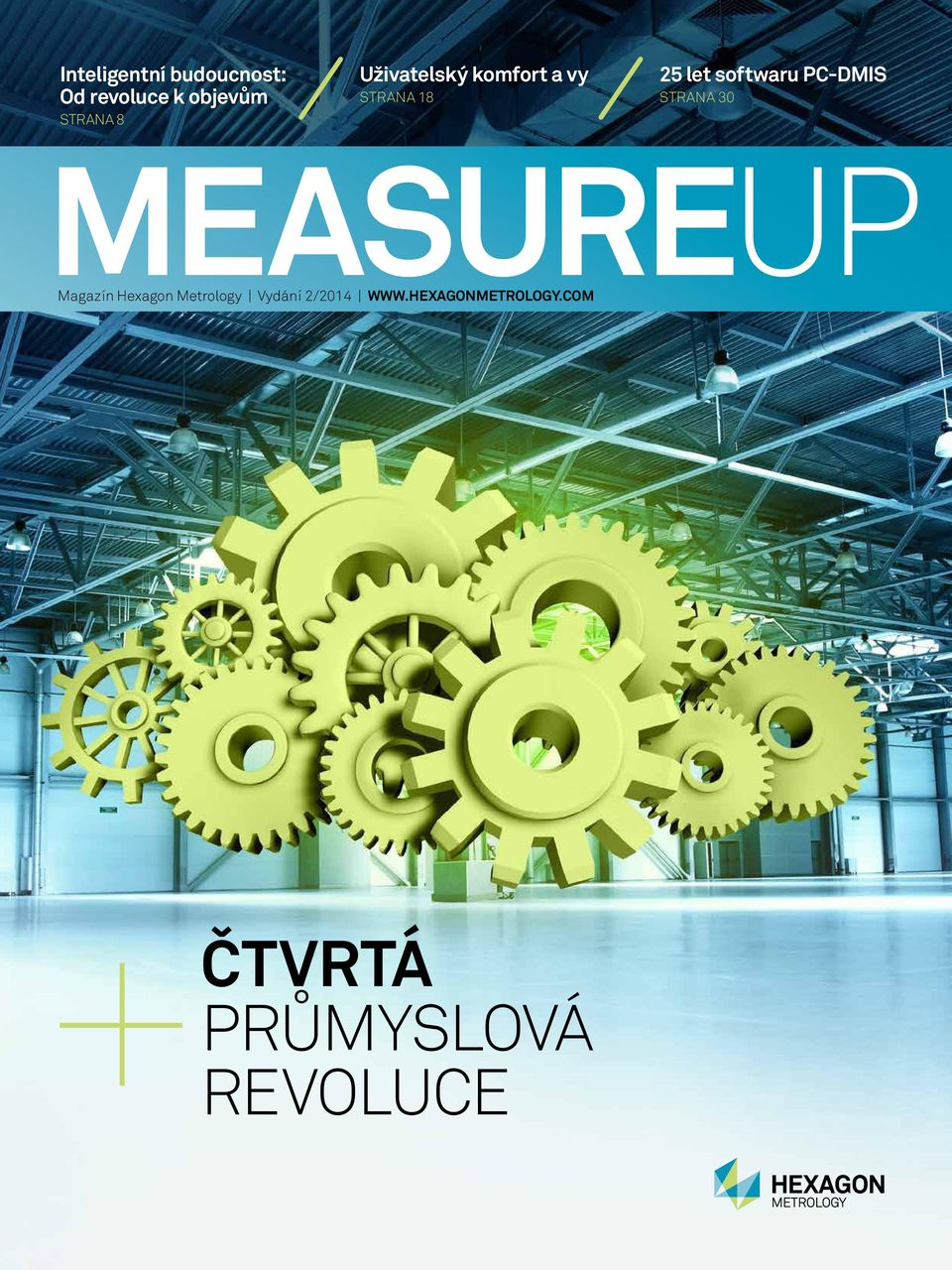 PC-DMIS STRANA 30 MEASUREUP Magazín Hexagon Metrology