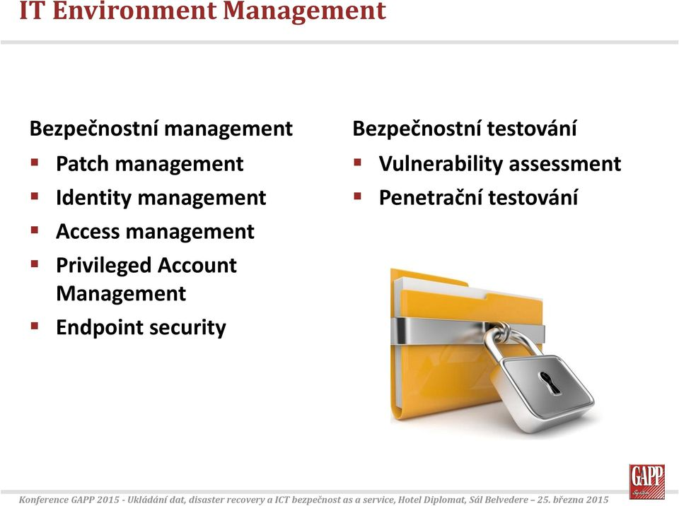 Privileged Account Management Endpoint security