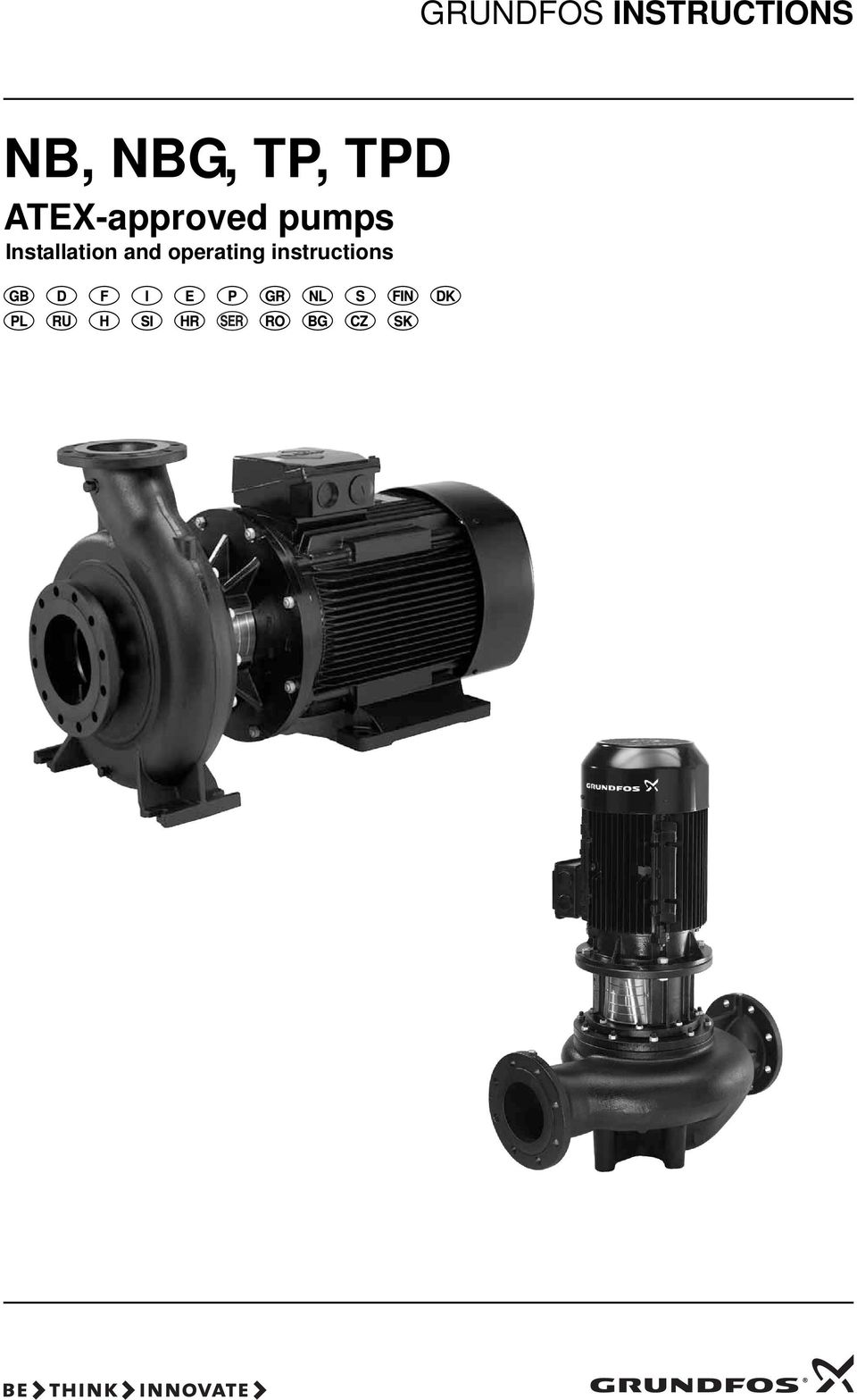 ATEX-approved pumps