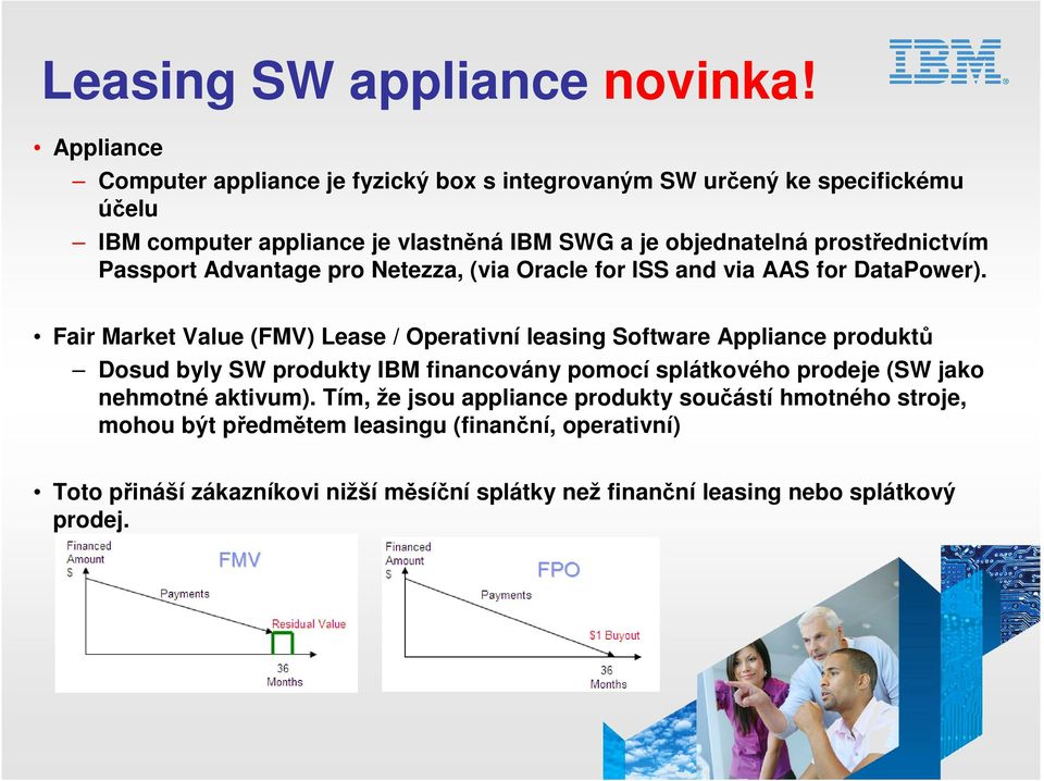 prostřednictvím Passport Advantage pro Netezza, (via Oracle for ISS and via AAS for DataPower).