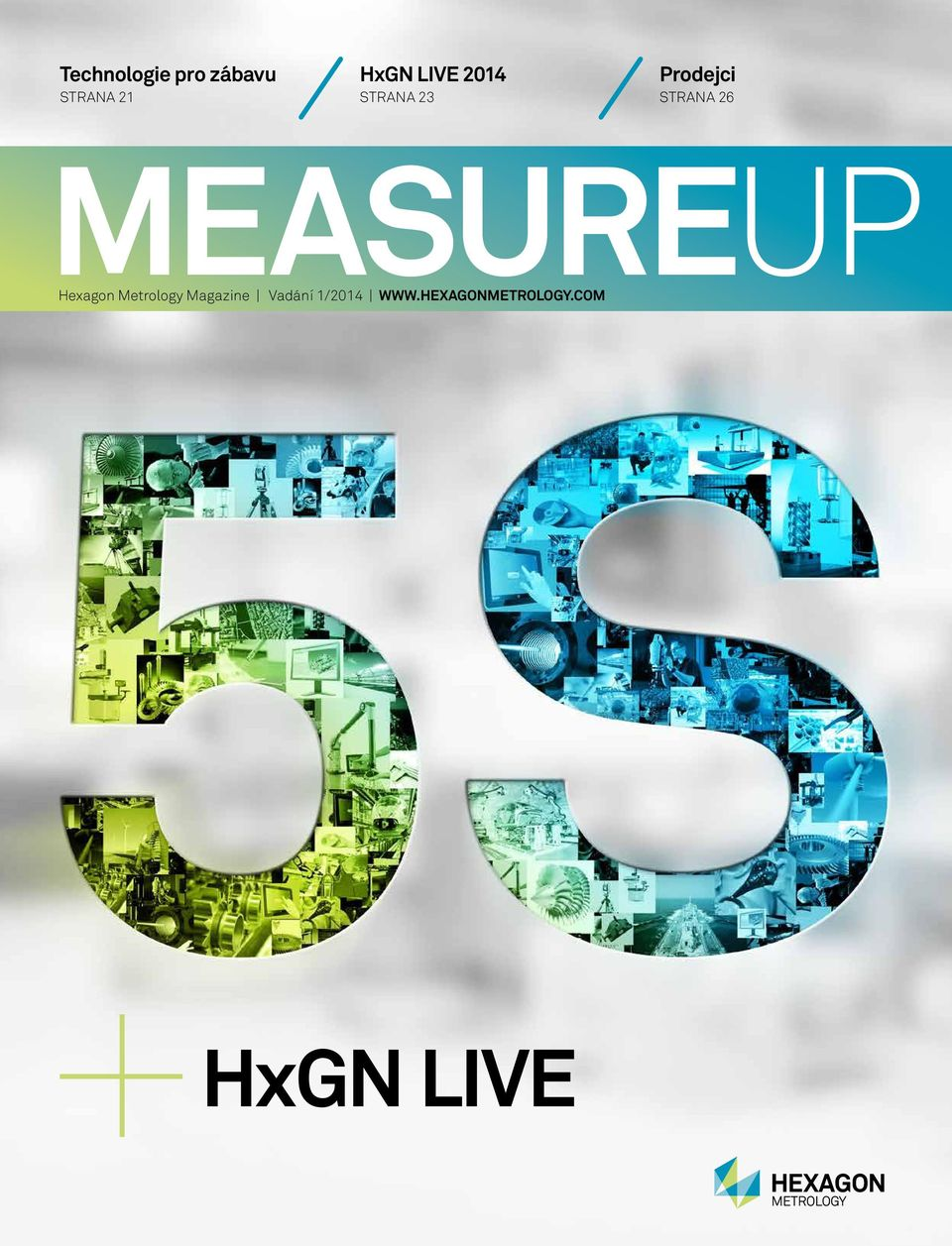 MEASUREUP Hexagon Metrology Magazine