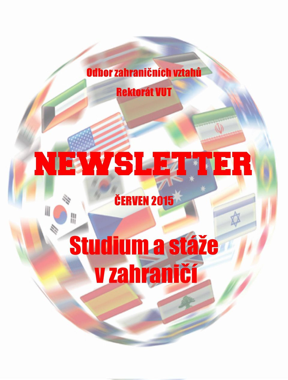 NEWSLETTER ČERVEN 2015