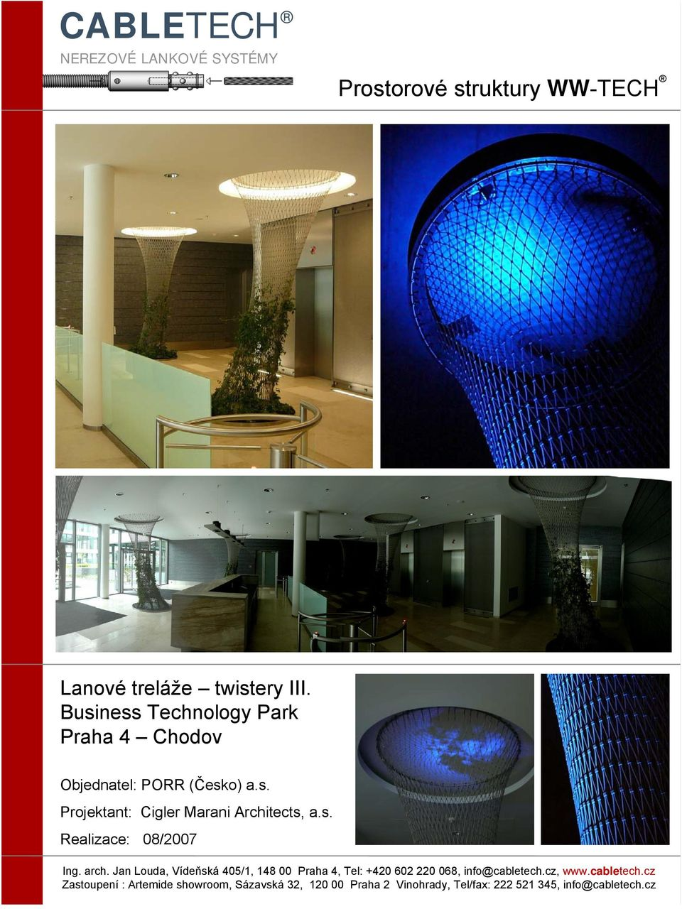 Business Technology Park Praha 4 Chodov