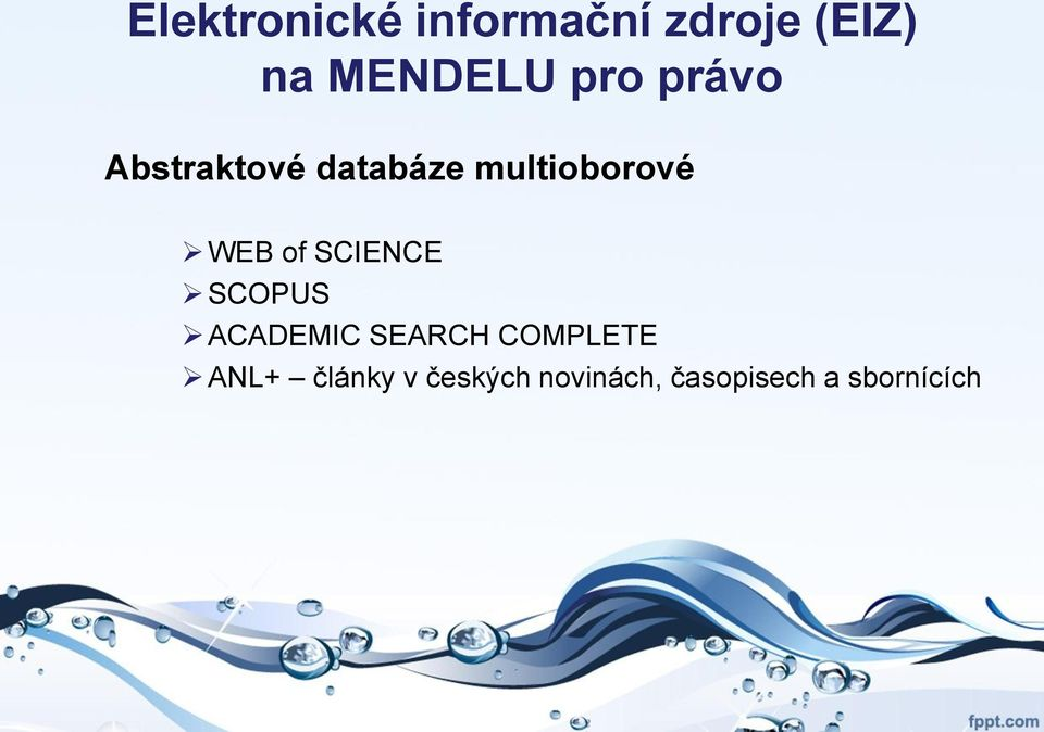 of SCIENCE SCOPUS ACADEMIC SEARCH COMPLETE ANL+