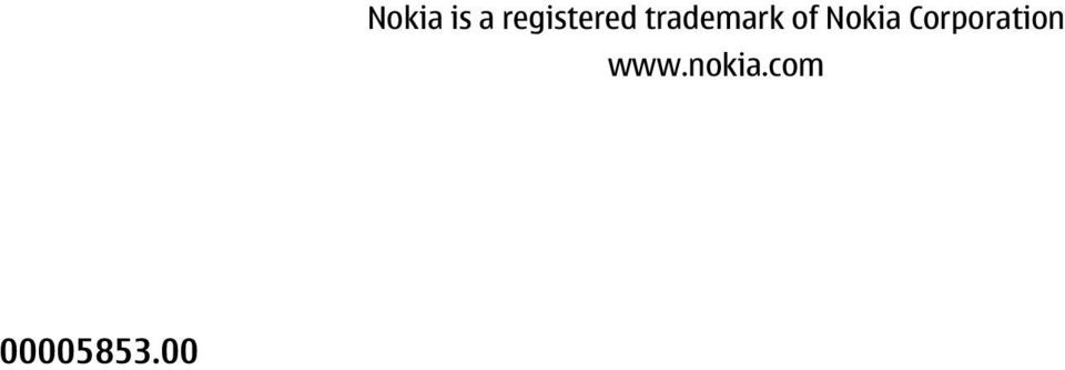 trademark of Nokia