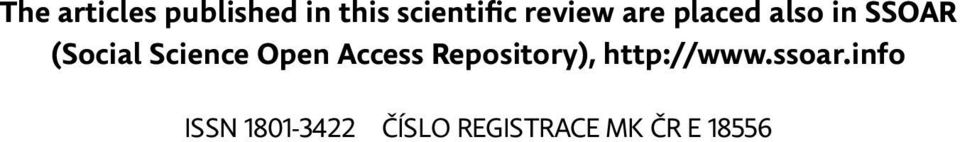 Science Open Access Repository), http://www.