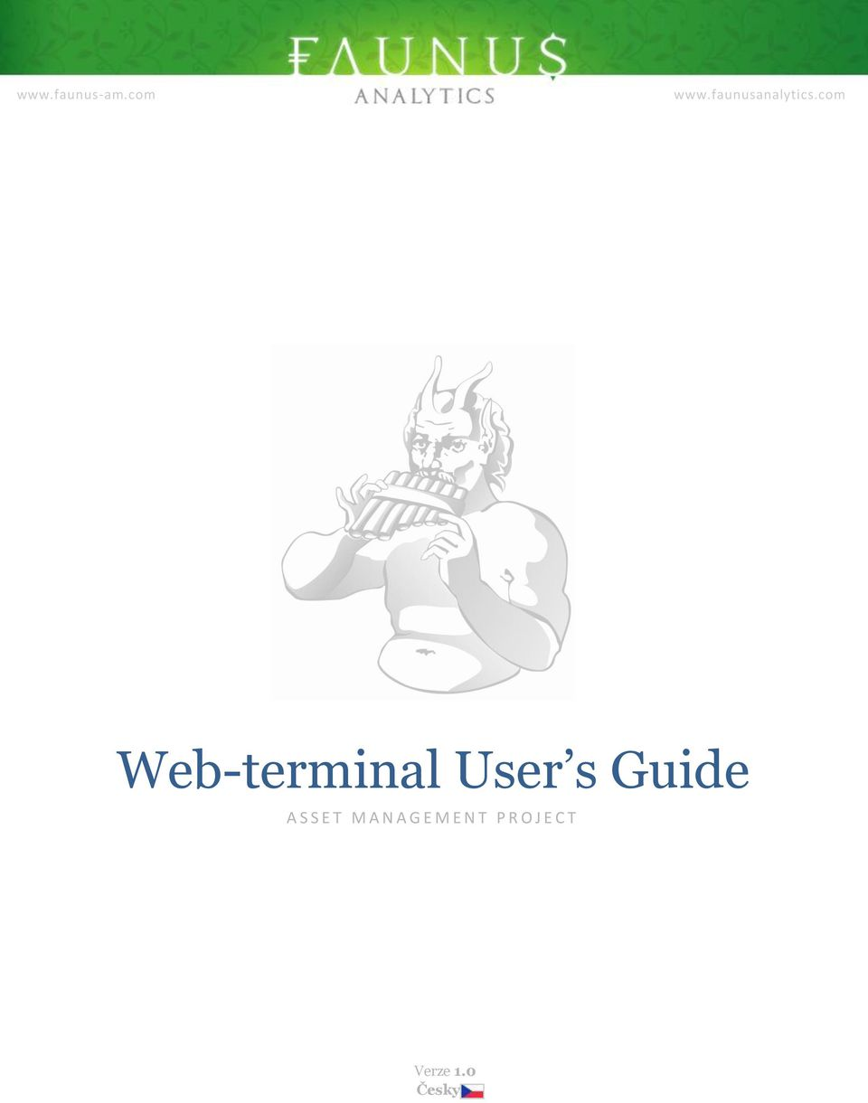 com Web-terminal User s Guide A