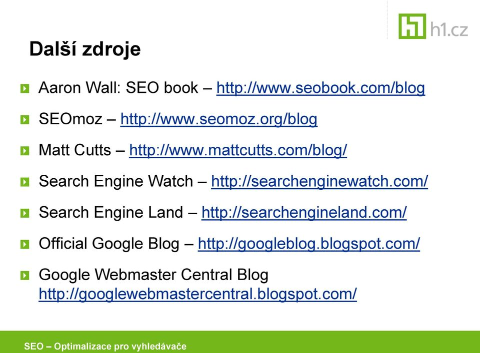 com/blog/ Search Engine Watch http://searchenginewatch.