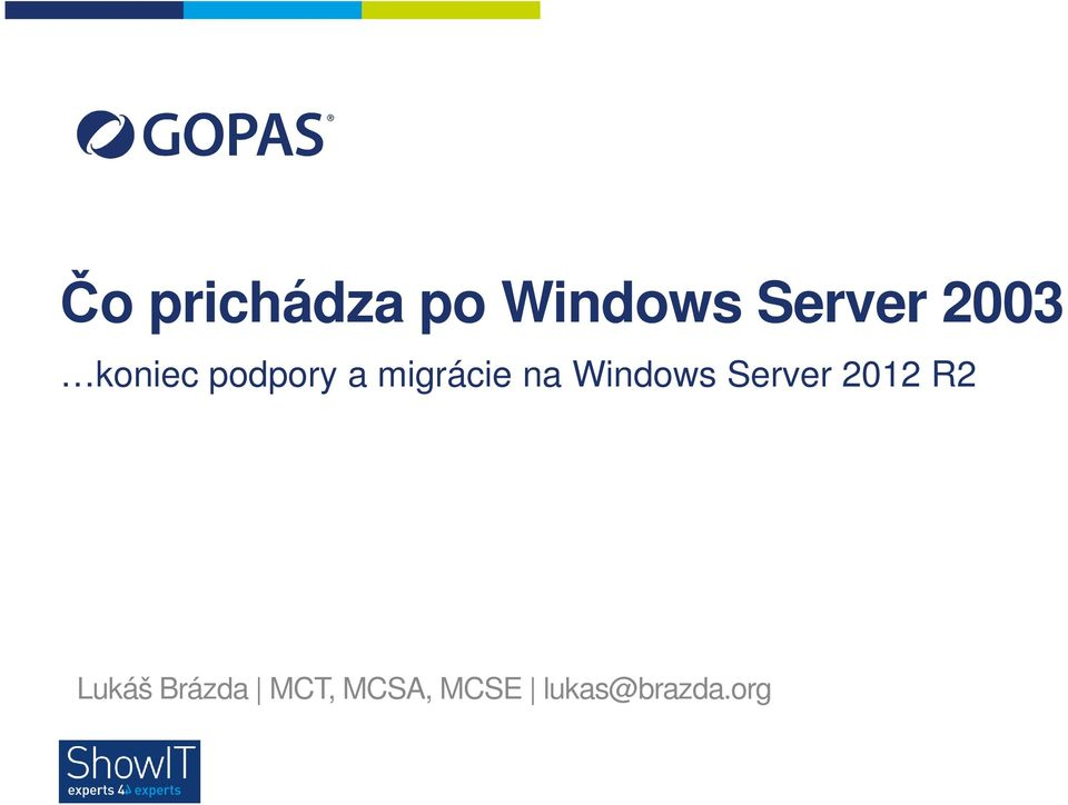 Windows Server 2012 R2 Lukáš