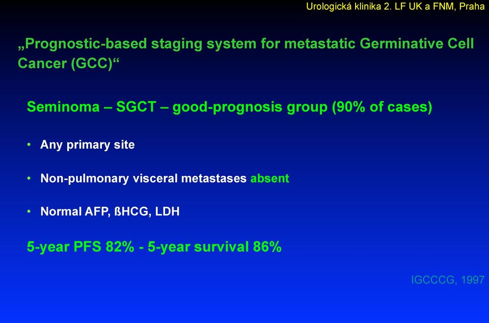 Any primary site Non-pulmonary visceral metastases absent