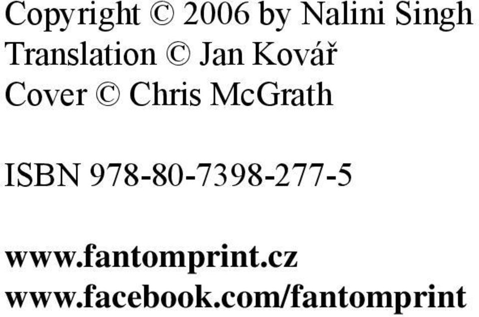McGrath ISBN 978-80-7398-277-5 www.