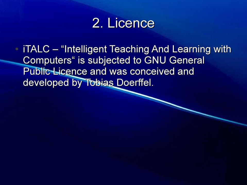 subjected to GNU General Public Licence