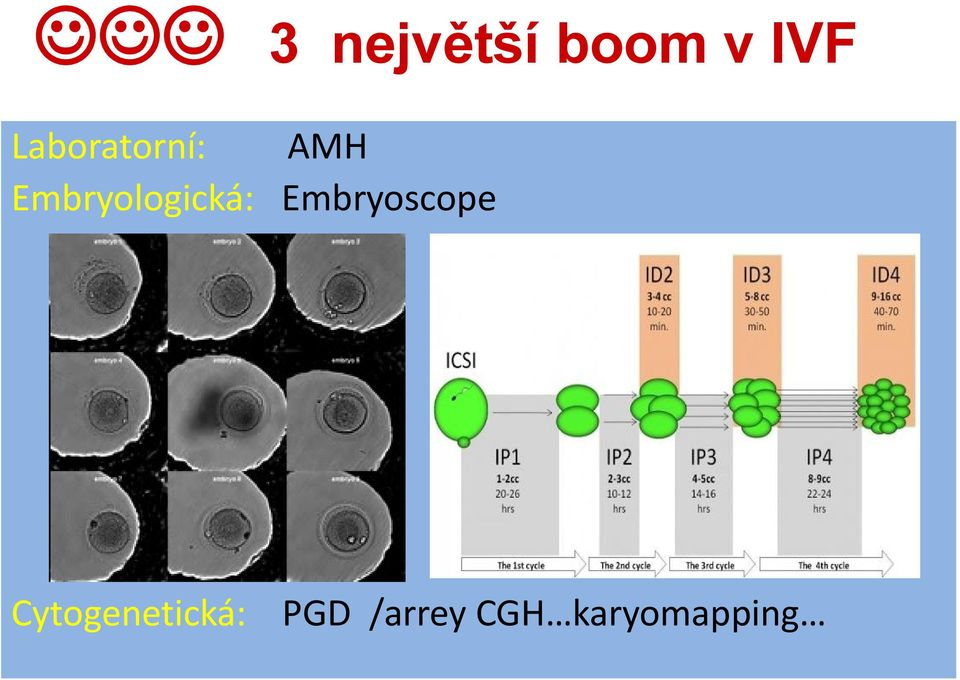 Embryologická: Embryoscope