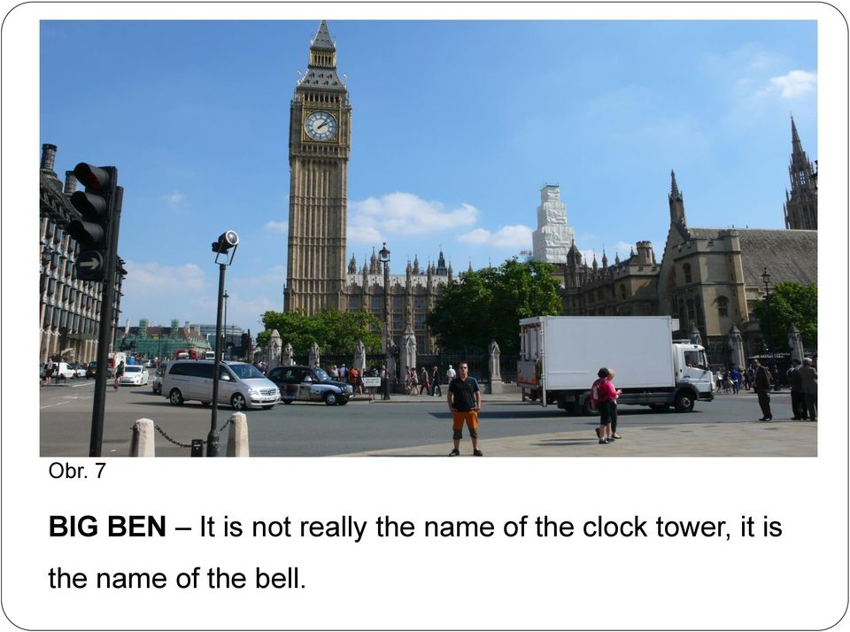 of the clock tower,