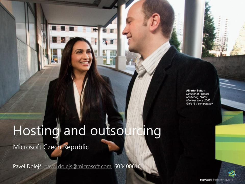 Hosting and outsourcing Microsoft Czech Republic