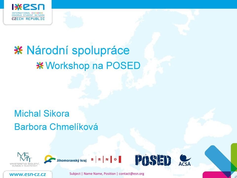 Workshop na POSED