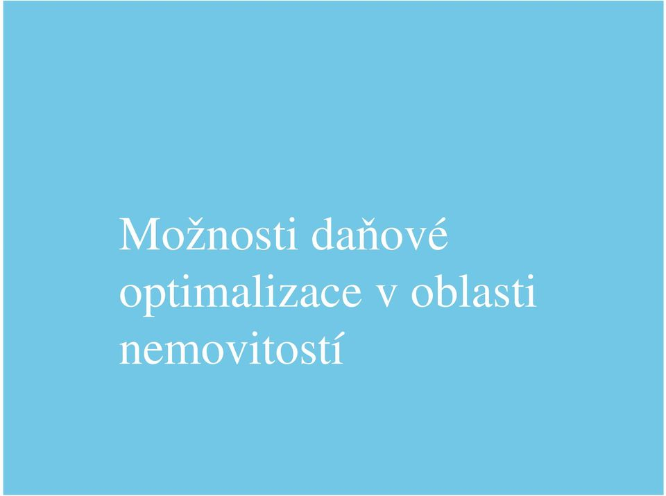 optimalizace