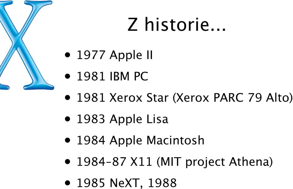 Star (Xerox PARC 79 Alto) 1983 Apple