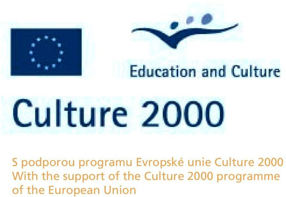 support of the Culture 2000