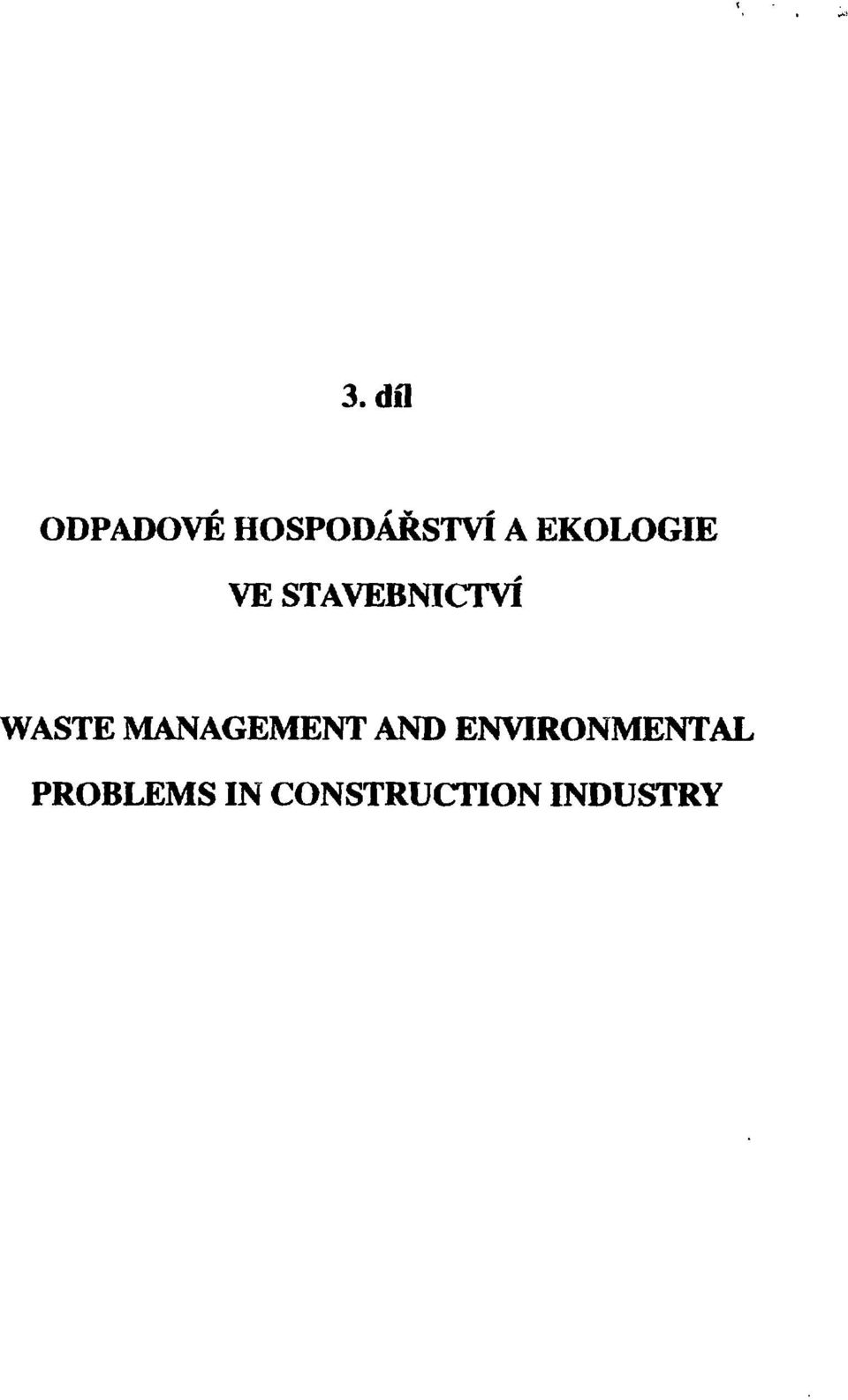 MANAGEMENT AND ENVIRONMENTAL