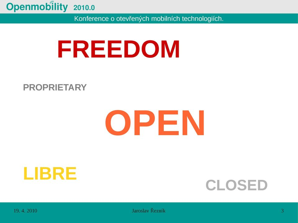LIBRE CLOSED 19.