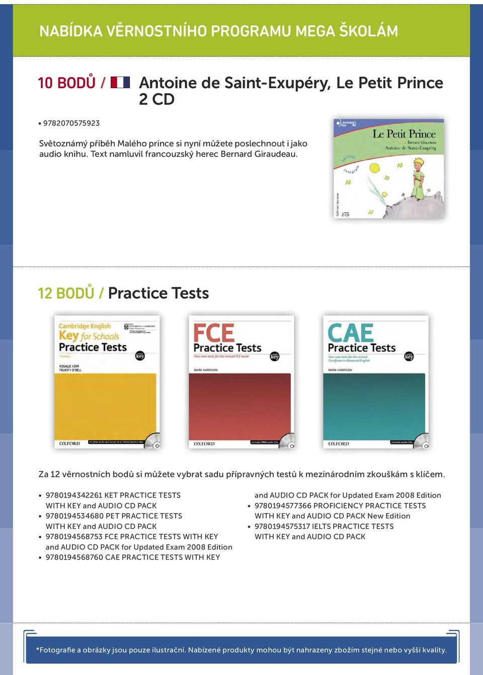 9780194342261 KET PRACTICE TESTS WITH KEY and AUDIO CD PACK 9780194534680 PET PRACTICE TESTS WITH KEY and AUDIO CD PACK 9780194568753 FCE PRACTICE TESTS WITH KEY and AUDIO CD PACK for Updated Exam