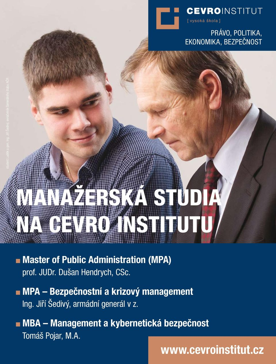 Public Administration (MPA) prof. JUDr. Dušan Hendrych, CSc.