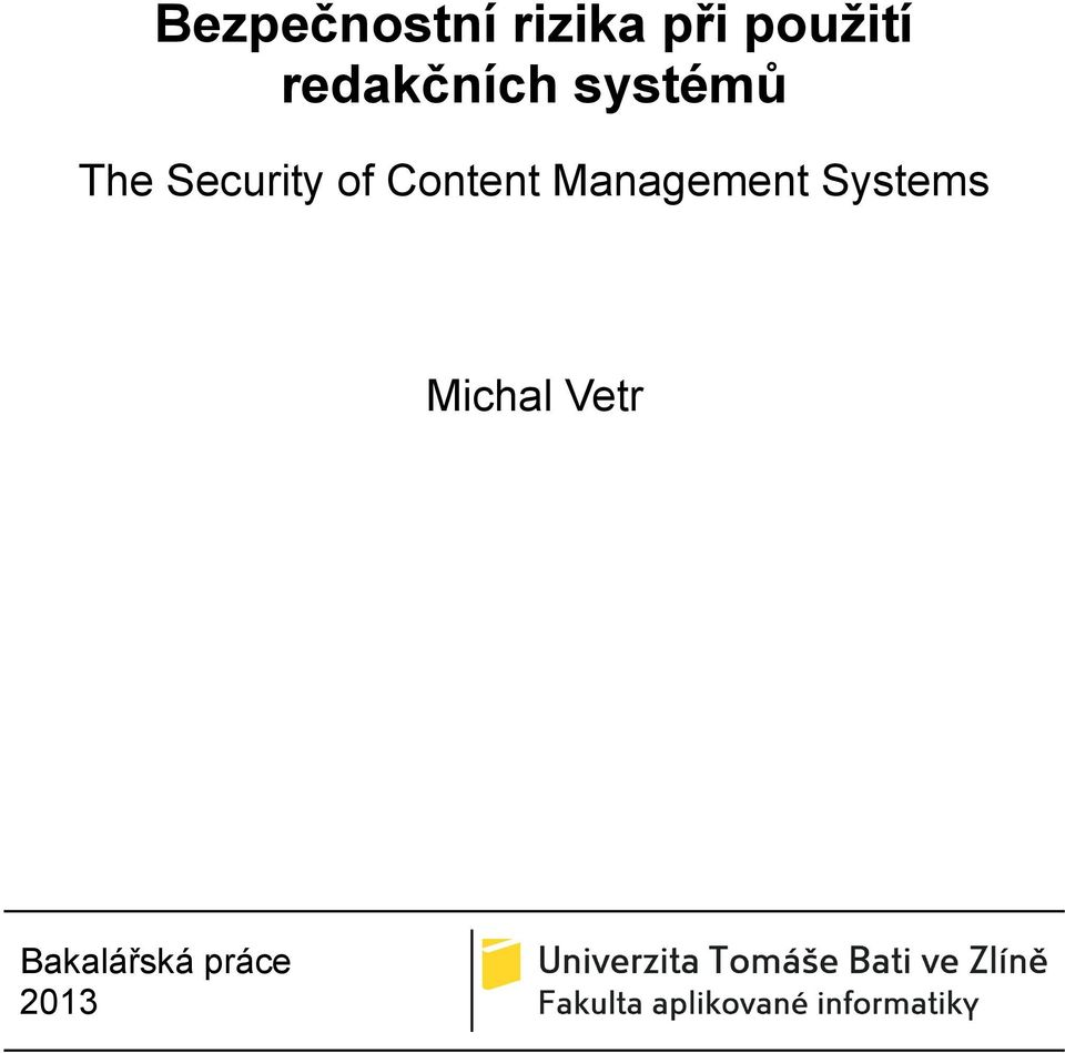 of Content Management Systems