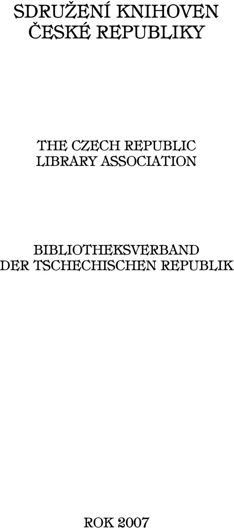 LIBRARY ASSOCIATION