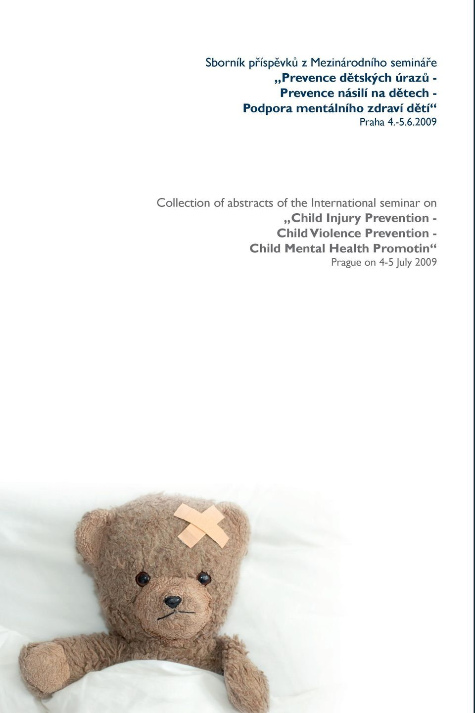 2009 Collection of abstracts of the International seminar on Child Injury
