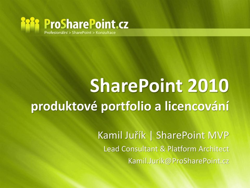 SharePoint MVP Lead Consultant &