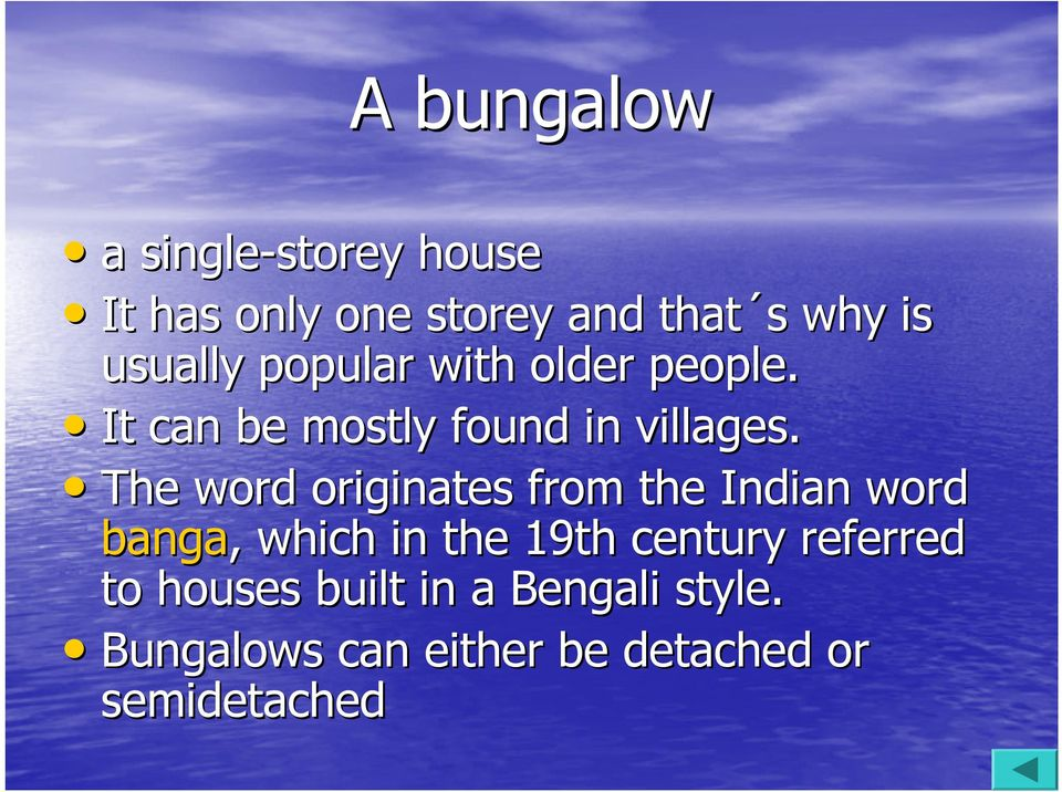 The word originates from the Indian word banga, which in the 19th century