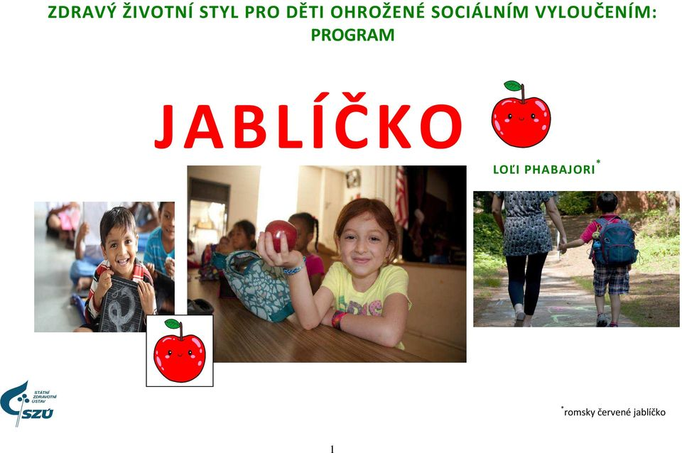PROGRAM JABLÍČKO LOĽI