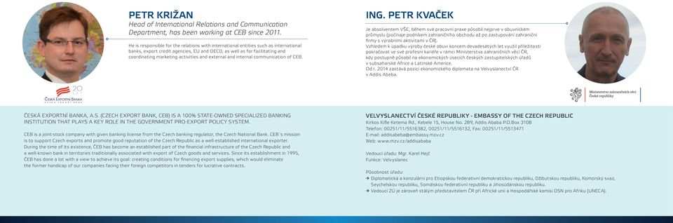 external and internal communication of CEB. ING.