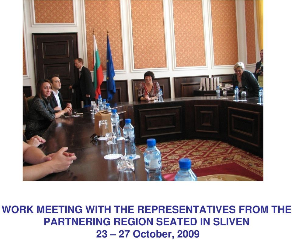 PARTNERING REGION SEATED
