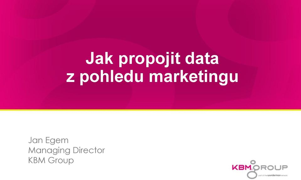 marketingu Jan