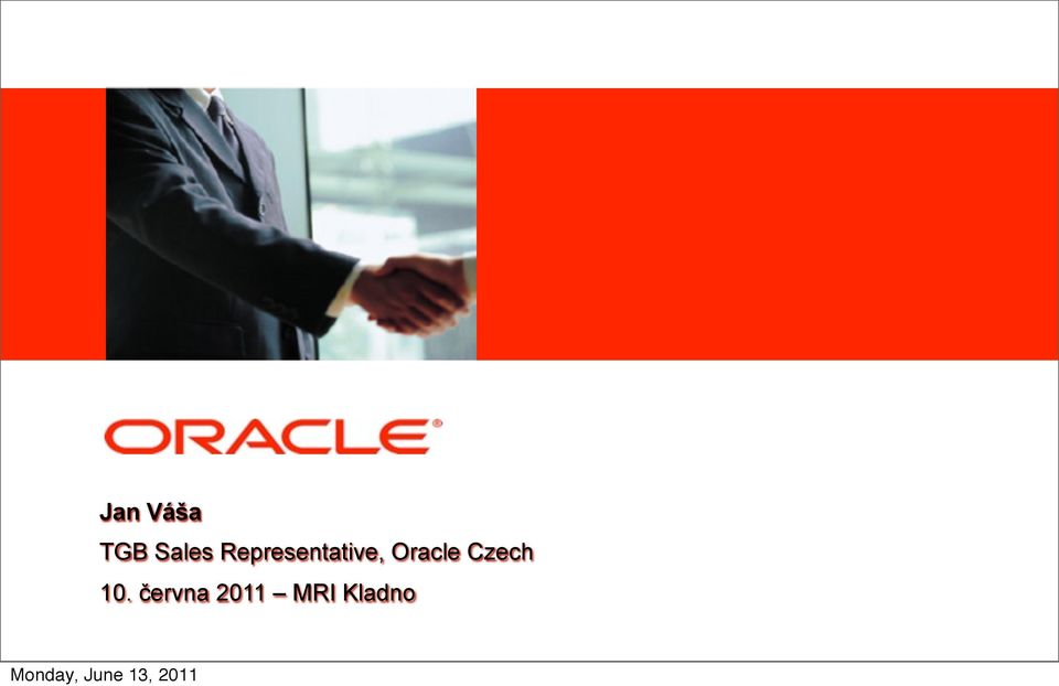Representative, Oracle