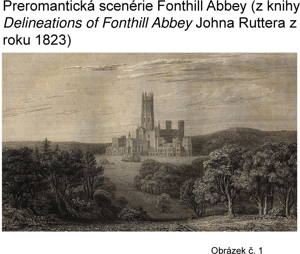 Delineations of Fonthill